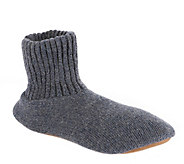 MUK LUKS Slipper Sox Mens Ragg Wool - A152040