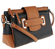 Tignanello Perfect Pockets Pebble Leather Crossbody - A257840