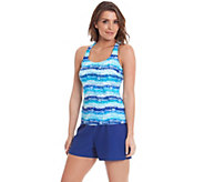 Ocean Dream Signature Love Potion Racerback Tankini & Short - A263740