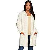 Isaac Mizrahi Live! SOHO Hooded Sweater Coat - A268440