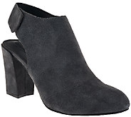 As Is Adam Tucker Suede Ankle Booties - Jenna - A276140