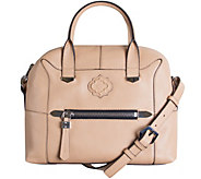As Is orYANY Pebble Leather Satchel - London - A284640
