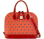 Dooney & Bourke NFL Bengals Zip Zip Satchel - A285740