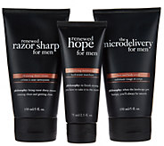 philosophy prep, shave & hydrate trio for men Auto-Delivery - A286040
