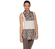 Kathleen Kirkwood Dictrac-Ease Rayon Spandex Collar Camisole - A286640