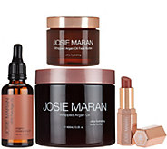 Josie Maran Whipped Argan Oil Butter-full Face & Body 4-Piece Set - A288240