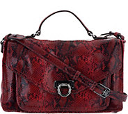 Aimee Kestenberg Leather Convertible Messenger Bag - A294940