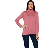 Joan Rivers Wardrobe Builders Classic Knit Turtleneck - A295940