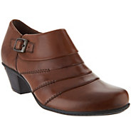 Earth Leather Side Buckle Shooties - Dawn - A296240