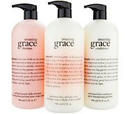 philosophy super-size grace & love head to toe fragrance trio - A297340