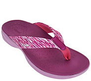 As Is Vionic Orthotic Sport Thong Sandals - Kapel - A299240