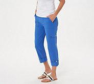 Susan Graver Premium Stretch Crop Pants - A303340