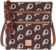 Dooney & Bourke NFL Redskins Triple Zip Crossbody - A303540