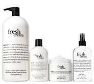 philosophy mega bubbles & body care 4-piece layering kit - A303740