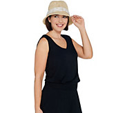 Physician Endorsed Adjustable & Packable Sun Hat with Trim - A304440
