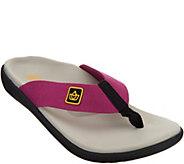 Spenco Orthotic Memory Foam Thong Sandals -Pure - A344340