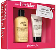 philosophy happy birthday gift box - A359440