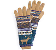 MUK LUKS Womens Multi 3-in-1 Gloves - A361340
