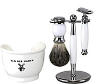 Van Der Hagen White Light Shave Set - A362840