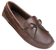 Minnetonka Mens Double Bottom Drivin g Moccasins - A208741