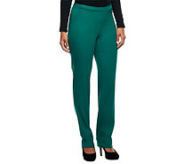 Isaac Mizrahi Live! 24/7 Stretch Petite Full Length Pants - A230741