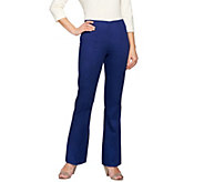 C. Wonder Petite Flare Leg Pants with Seaming Detail - A275641