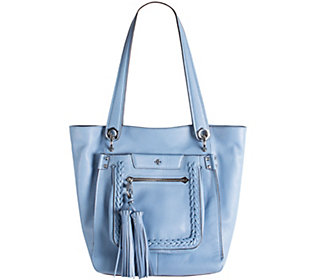 orYANY Pebble Leather Tote Bag - Erica
