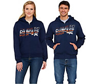 SH3/4 NFL SuperBowl 50 Champions Broncos Zip Up Hoodie - A279841