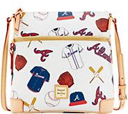 Dooney & Bourke MLB Braves Crossbody - A280041