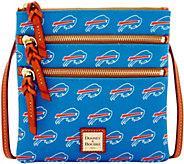 Dooney & Bourke NFL Bills Triple Zip Crossbody - A285641