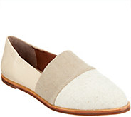 ED Ellen DeGeneres Fabric and Leather Flats - Karlin - A291041