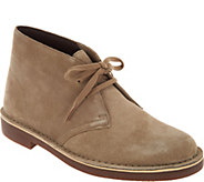 Clarks Leather or Suede Lace up Boots - Acre Bridge - A296341