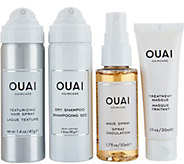OUAI Cleanse and Style Travel Kit - A298341