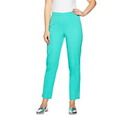 As Is Isaac Mizrahi Live! Tall 24/7 Stretch Ankle Pants - A300441