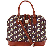 Dooney & Bourke NFL Redskins Zip Zip Satchel - A303541