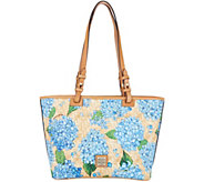 Dooney & Bourke Hydrangea Basketweave Small Leisure Shopper - A308741