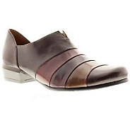 Spring Steps Diplomat Leather Slip-on Shoes - A329841
