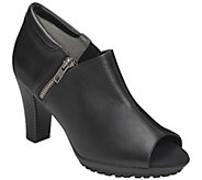 Aerosoles Heel Rest Booties with Lug Outsole -Bird Cage - A338141