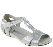 Earthies Leather Wedge Sandals - Ponza - A339341