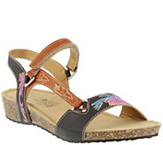 Spring Step LArtiste Leather Sandals - Gau - A340141