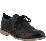Spring Step Leather Lace Up Oxfords - Reginia - A364041