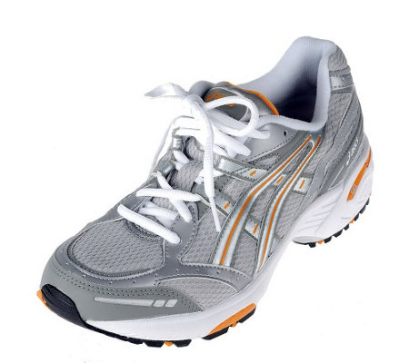 asics athletic walking shoes with gel cushioning a7841