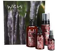 WEN by Chaz Dean Cleanse, Volume, & Shine 4-pc Gift Set - A238242