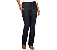 Liz Claiborne New York Jackie 5-Pocket Straight Leg Denim Jeans - A251242