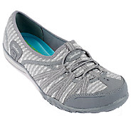 Skechers Mesh Relaxed Fit Slip-on Sneakers - Dimension - A257642