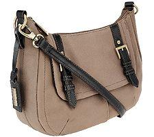 Tignanello Vintage Leather Convertible Messenger Bag
