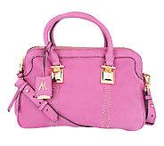 As Is Aimee Kestenberg Pebble Leather Dakota Satchel - A263242