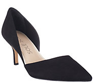 As Is Sole Society Suede Mid-heel Pumps - Jenn - A268942