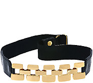 Susan Graver Stretch Belt with Metal Links - A269242