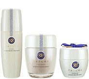 TATCHA Cleansing Oil, Polishing Enzyme Powder & Silk Cream - A269942